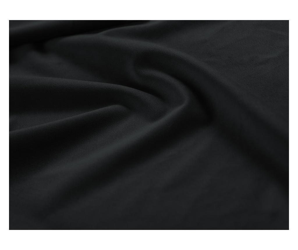 Rozkładana kanapa 3-osobowa Basso Black