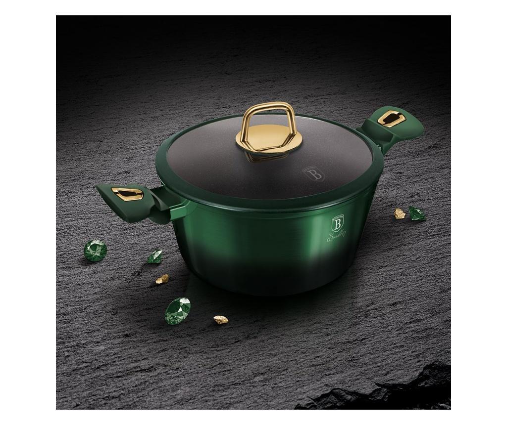 Oala cu capac Emerald 20 cm