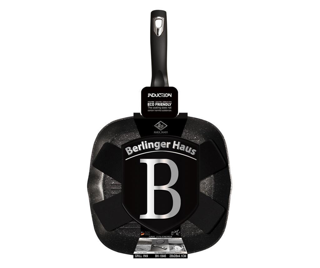Tigaie grill Black Silver 28 cm