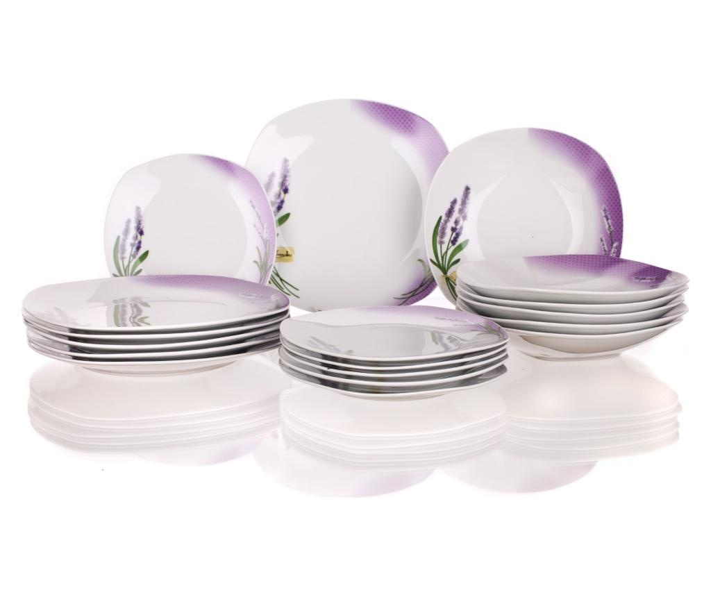Lavender Gradient 18 darabos Étkészlet