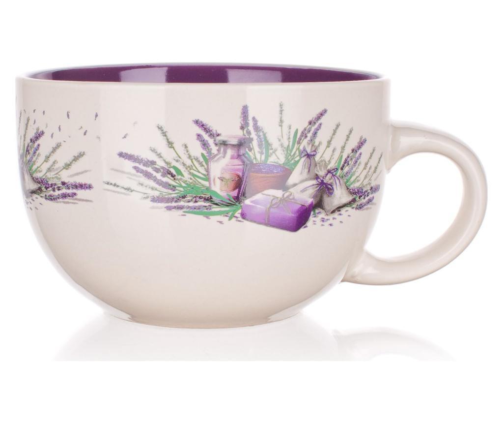 Cana mic dejun Lavender Bouquet 660 ml
