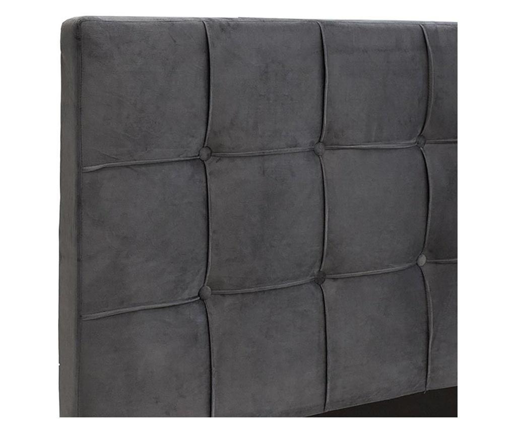 Łóżko Vilma Grey 140x190 cm