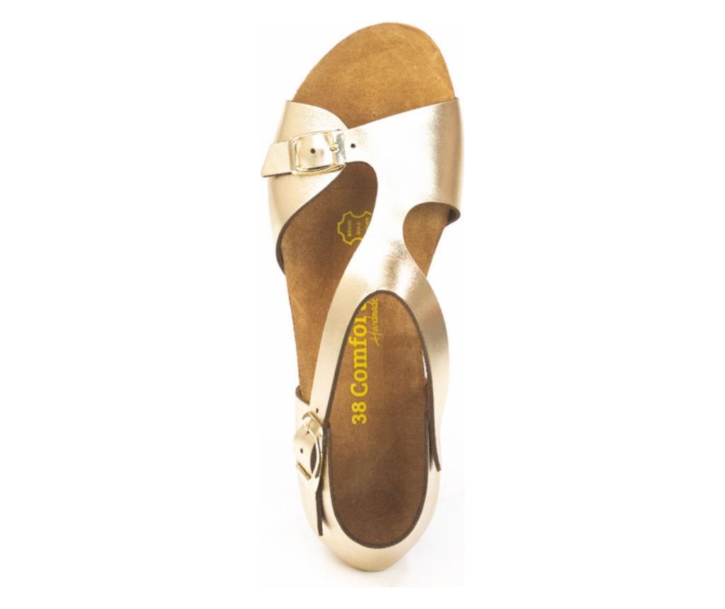 Ženske sandale Lorah Gold 36
