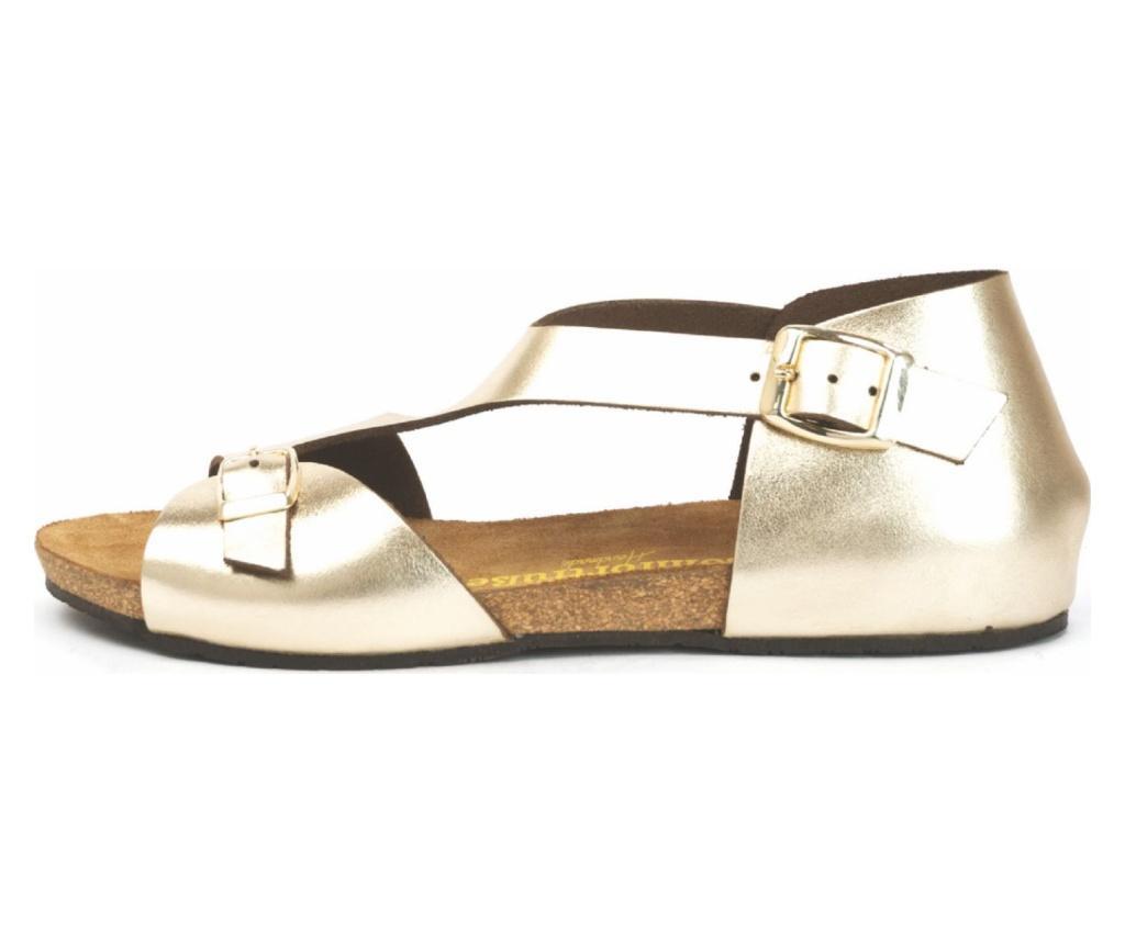 Sandale dama Lorah Gold 36