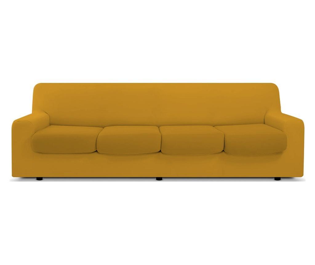 Pokrowiec na kanapę 4-osobową Easy Senape