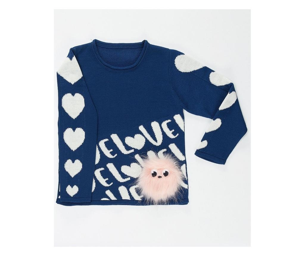 Pulover copii Hearts&Pompom 4-5 years