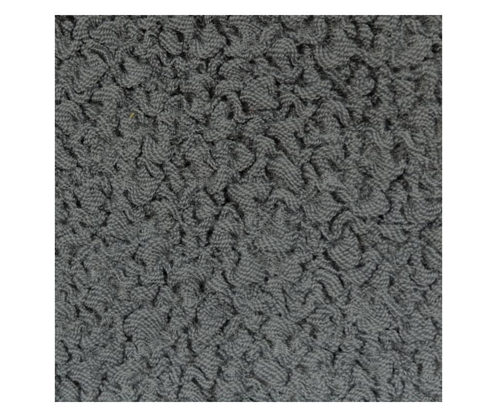 Regulowany pokrowiec na narożnik 5-osobowy Premium Grey 450x70x80 cm