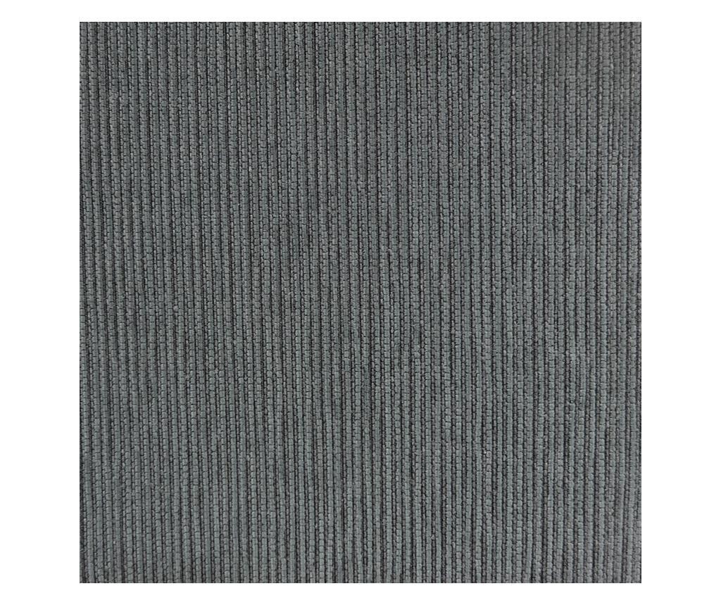 Poťah na 4 miestnu pohovku Chenille Salva Grey 210-250 cm