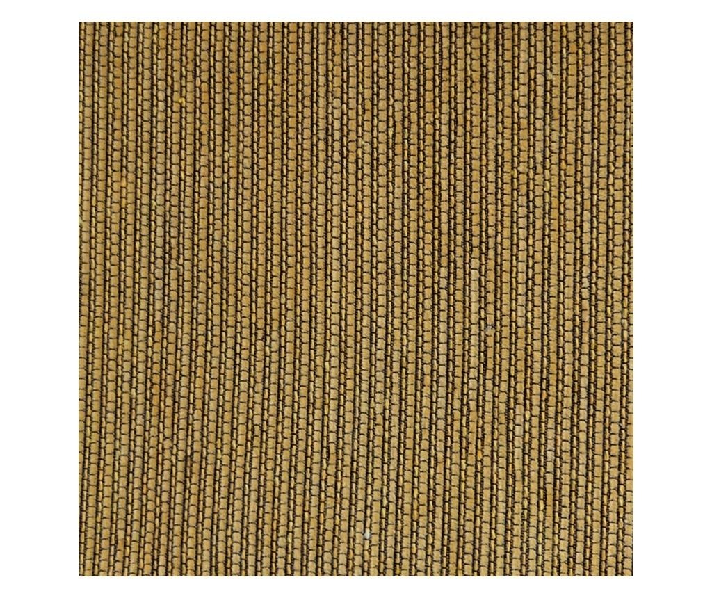 Husa pentru canapea cu 2 locuri Chenille Salva Mustard 120-170 cm