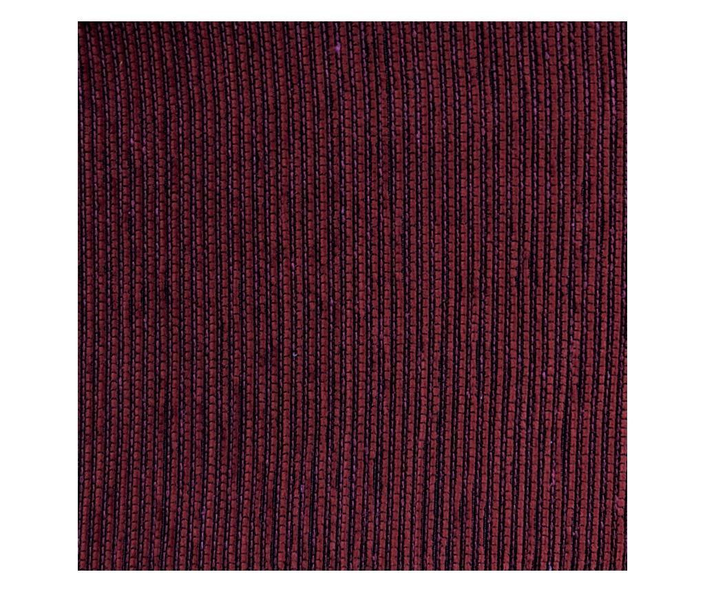 Navlaka za lijevu  ležaljku za dnevni boravak Chenille Bordo 240x95x150 cm
