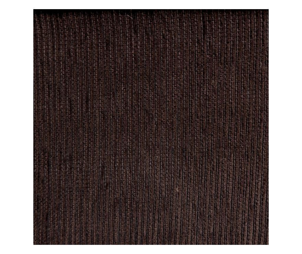 Chenille Salva Brown Négyszemélyes kanapé huzat 210-250 cm