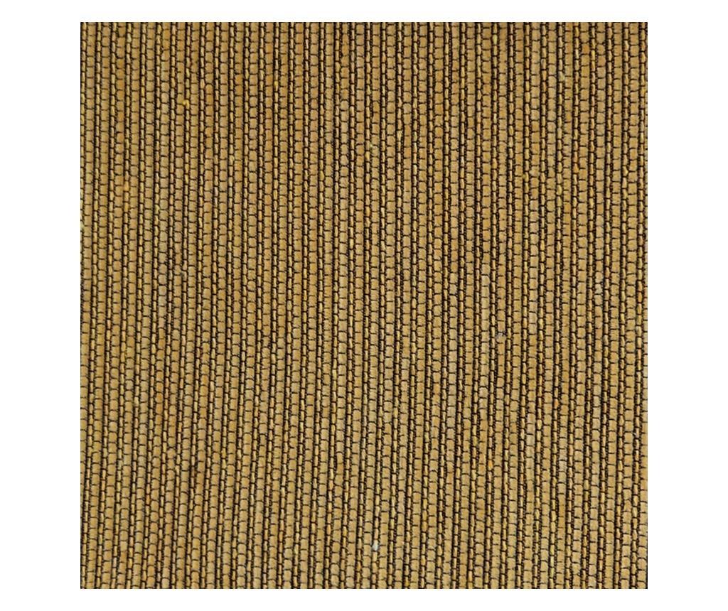 Navlaka za fotelju Chenille Salva Mustard 55x95x220 cm