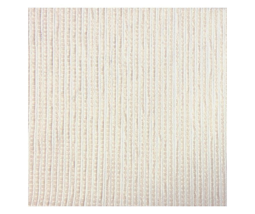Podesiva navlaka za trosjed Chenille Ties Cream 180x45x50 cm