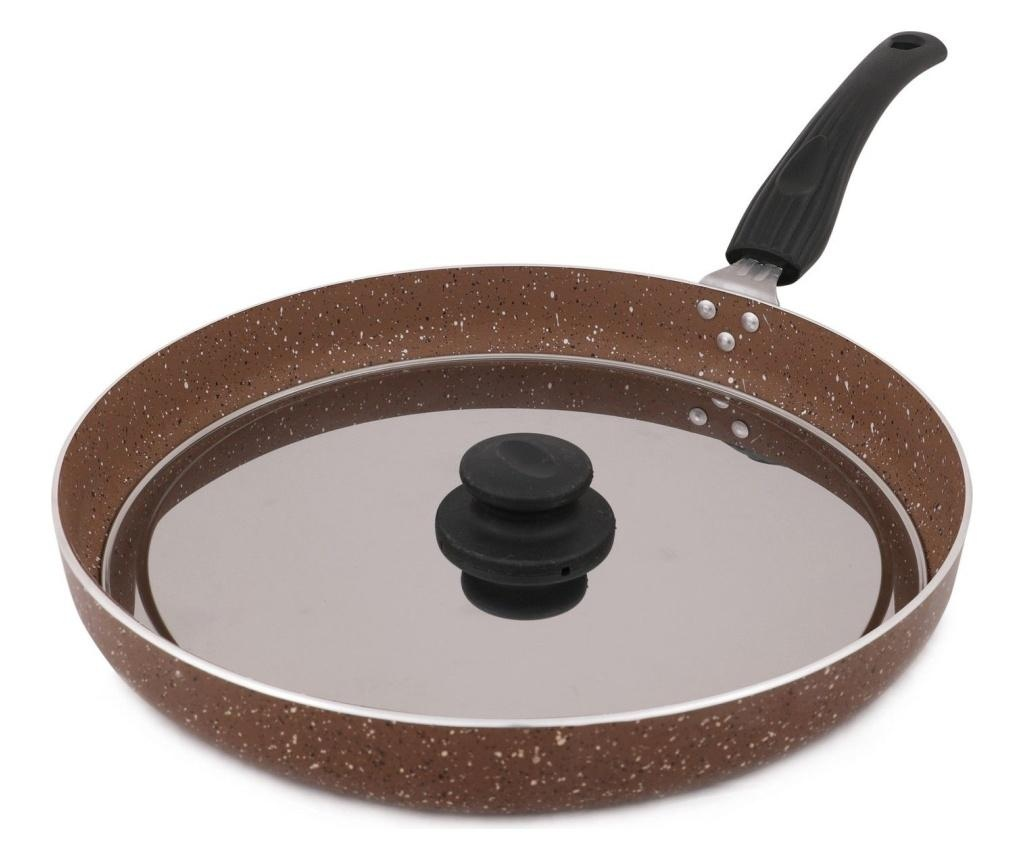 Tigaie grill cu capac  32 cm