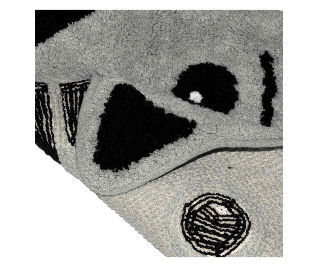 Dywanik łazienkowy Grey Cat 47x53 cm