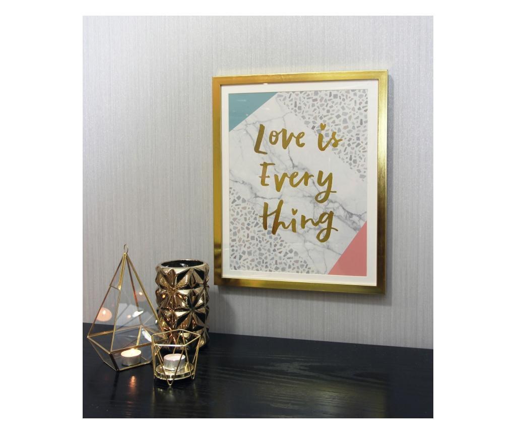 Slika Terrazzo Love 40x50 cm