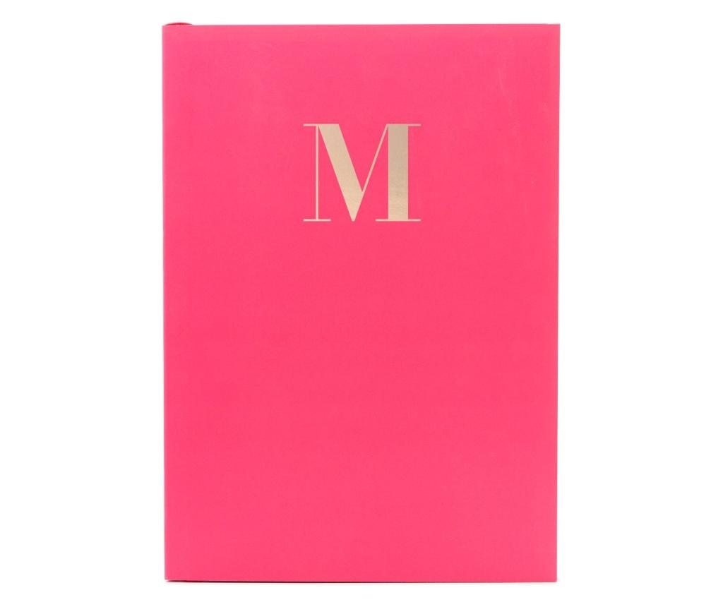 Monogram Cerise M Jegyzetfüzet A5