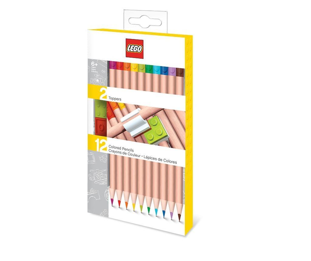 LEGO 12 db Színes ceruza és 2 kiegészítő
