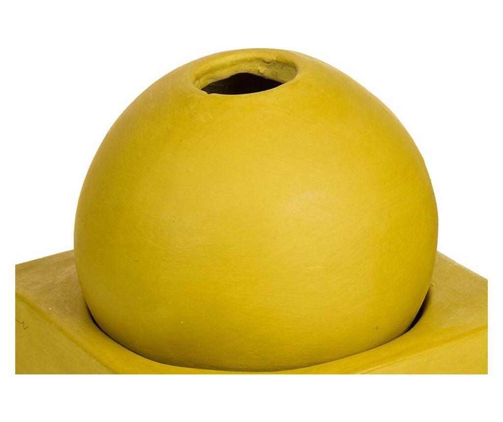 Suport pentru lumanare Zen Mustard M
