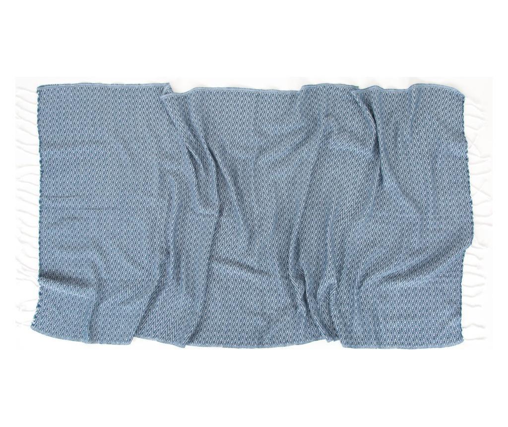 Prosop Peshtemal Ilgin Blue 90x170 cm