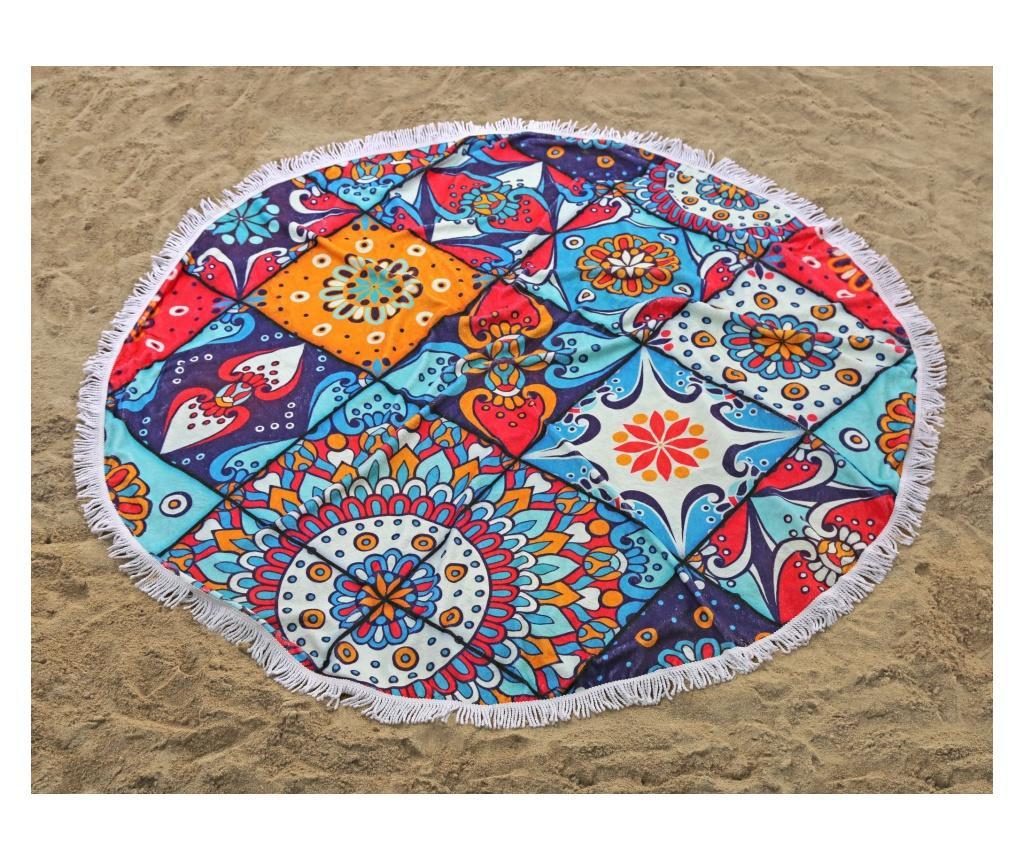 Osuška India Beach Coloured 150x150 cm