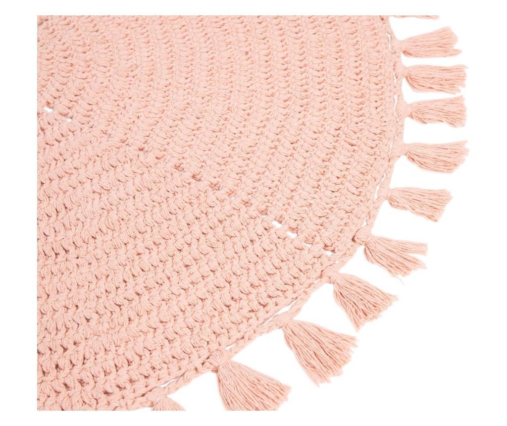 Dywanik łazienkowy Olia Pink 100 cm