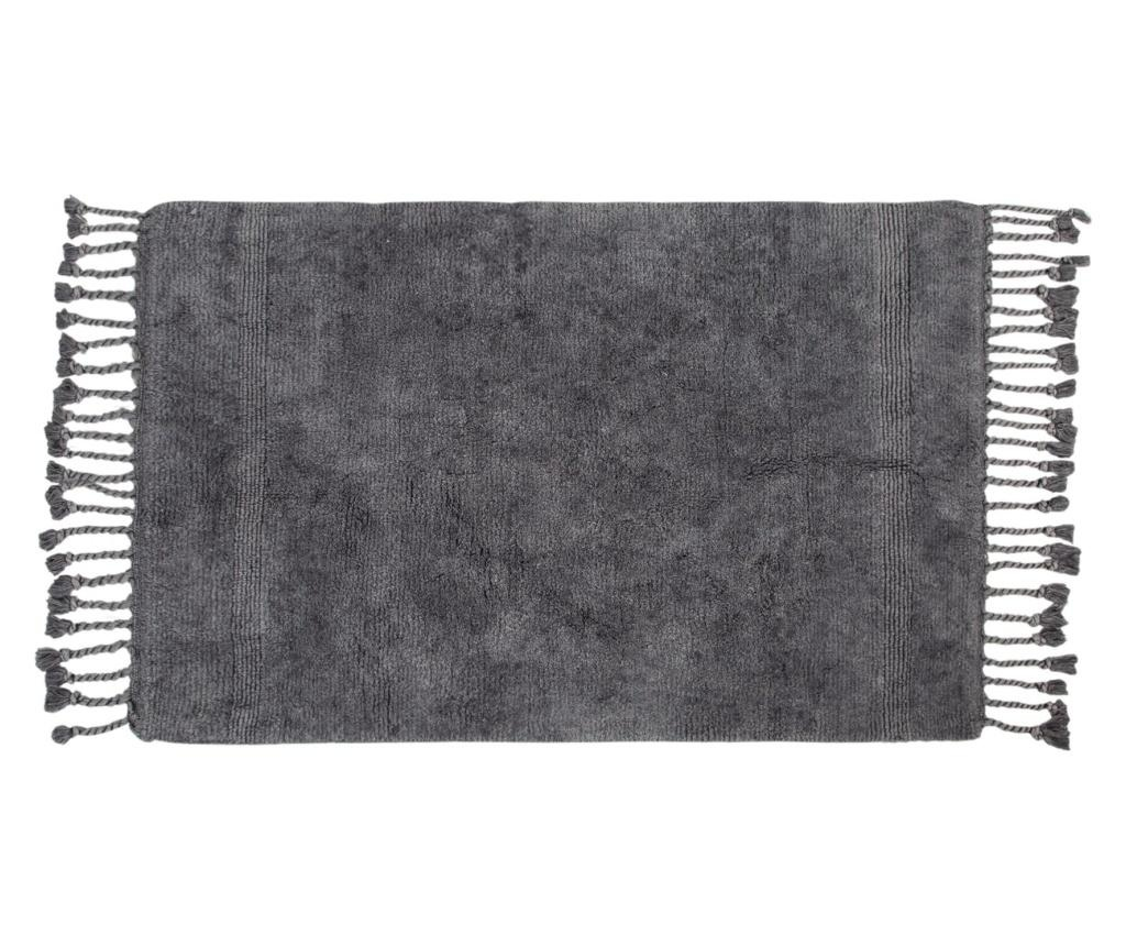 Dywanik łazienkowy Paloma Dark Grey 70x105 cm