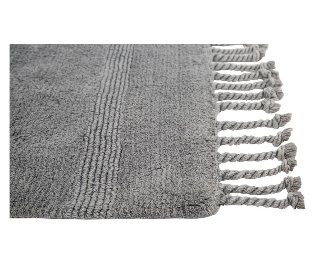 Dywanik łazienkowy Paloma Grey 70x105 cm