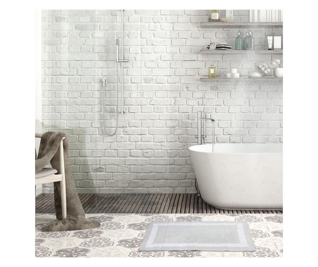 Dywanik łazienkowy Barnes Silver 53x86 cm