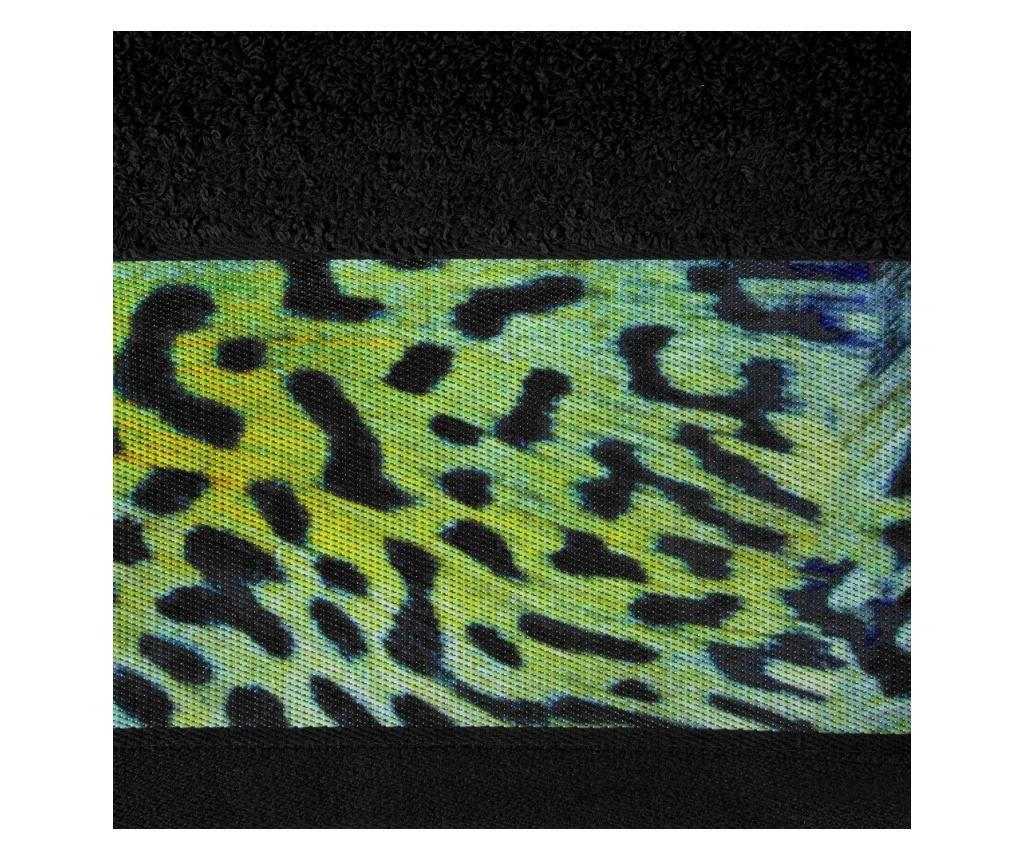 Prosop de baie Laila Black 70x140 cm