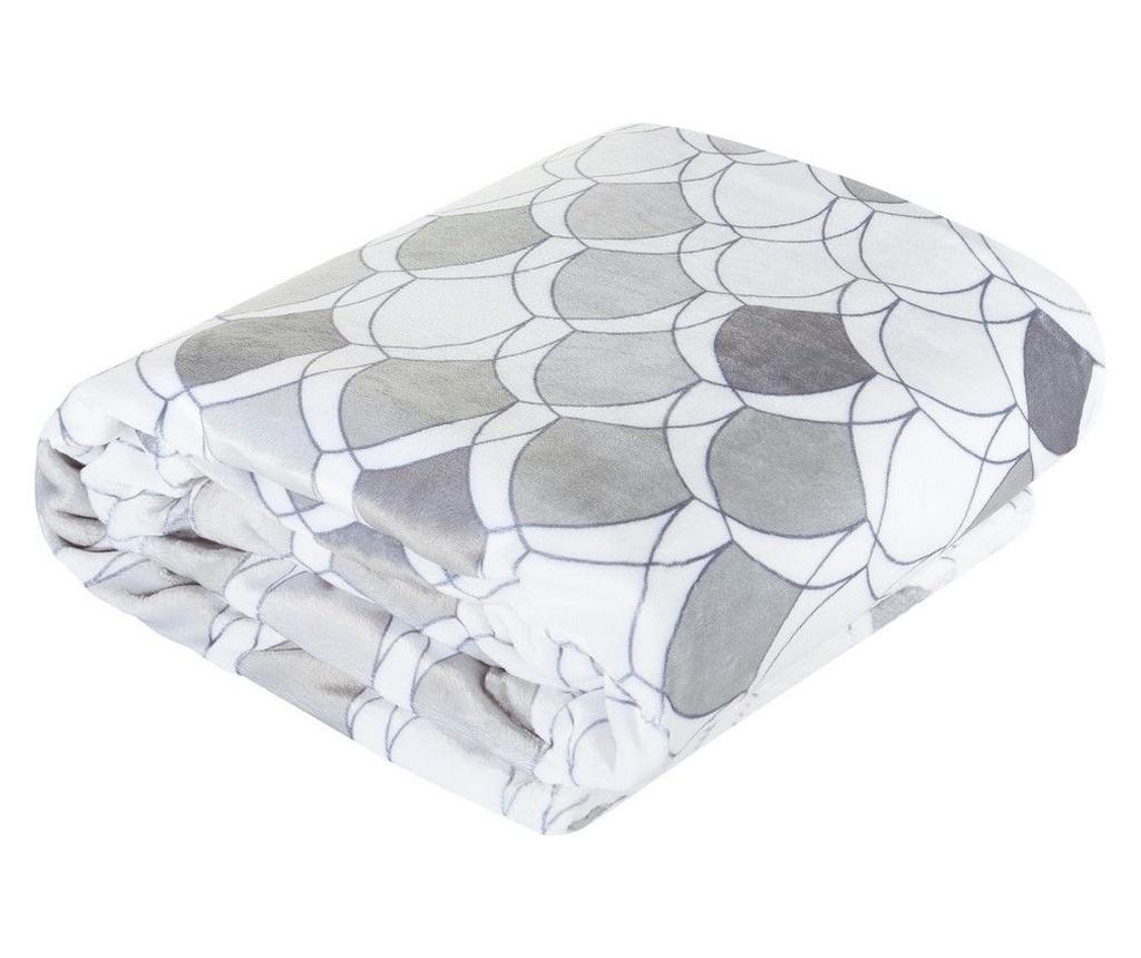 Deka Kloe Silver 150x200 cm