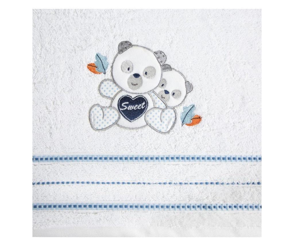 Prosop de baie Baby1 White 50x90 cm