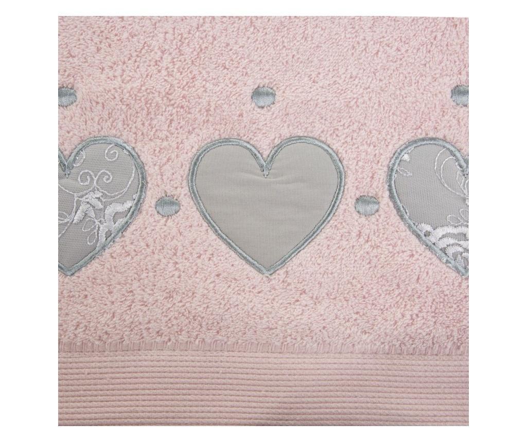 Prosop de baie Aga Pink 50x90 cm