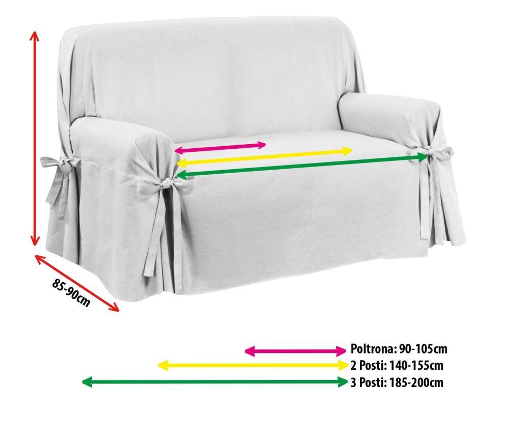 Navlaka za fotelju Laccetti Lord Tortora 85x90 cm