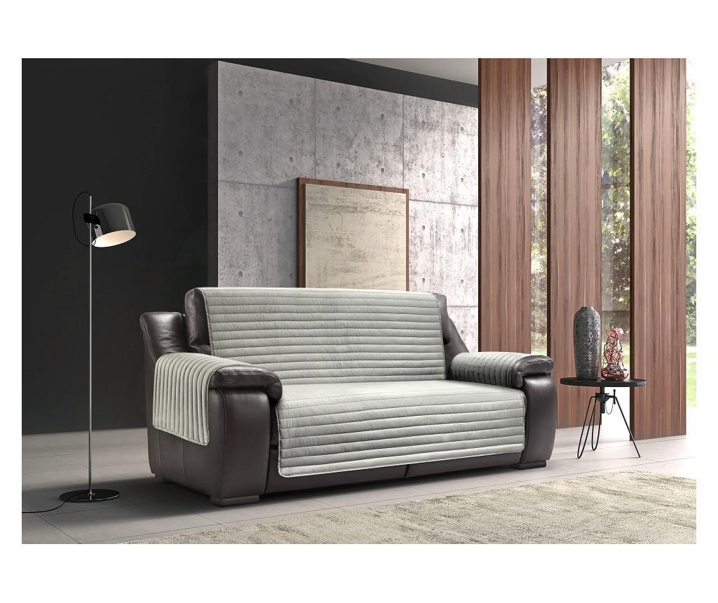 Navlaka za dvosjed Sofa Dark Grey 190x125 cm