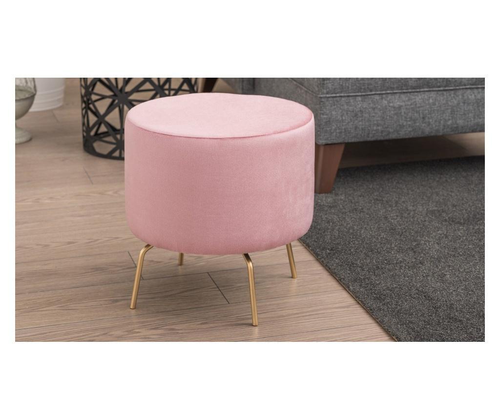Σκαμπό Octo Pink And Gold
