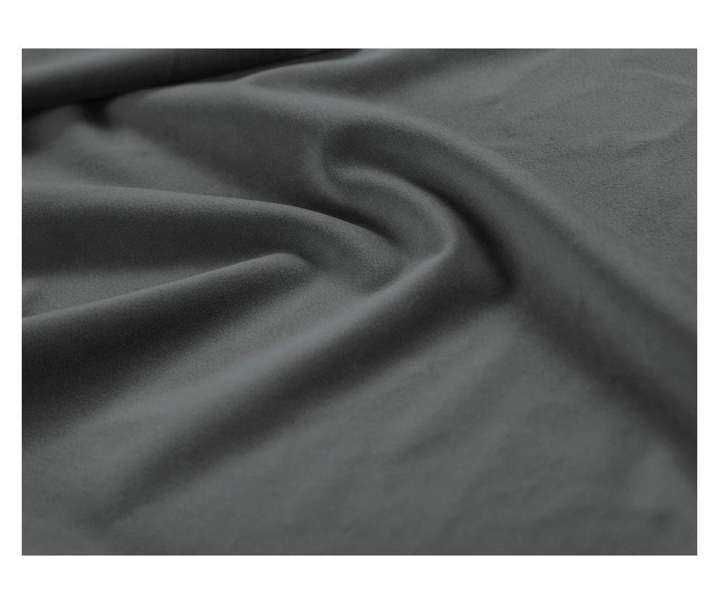 Bancheta Enrico Dark Grey 140 cm