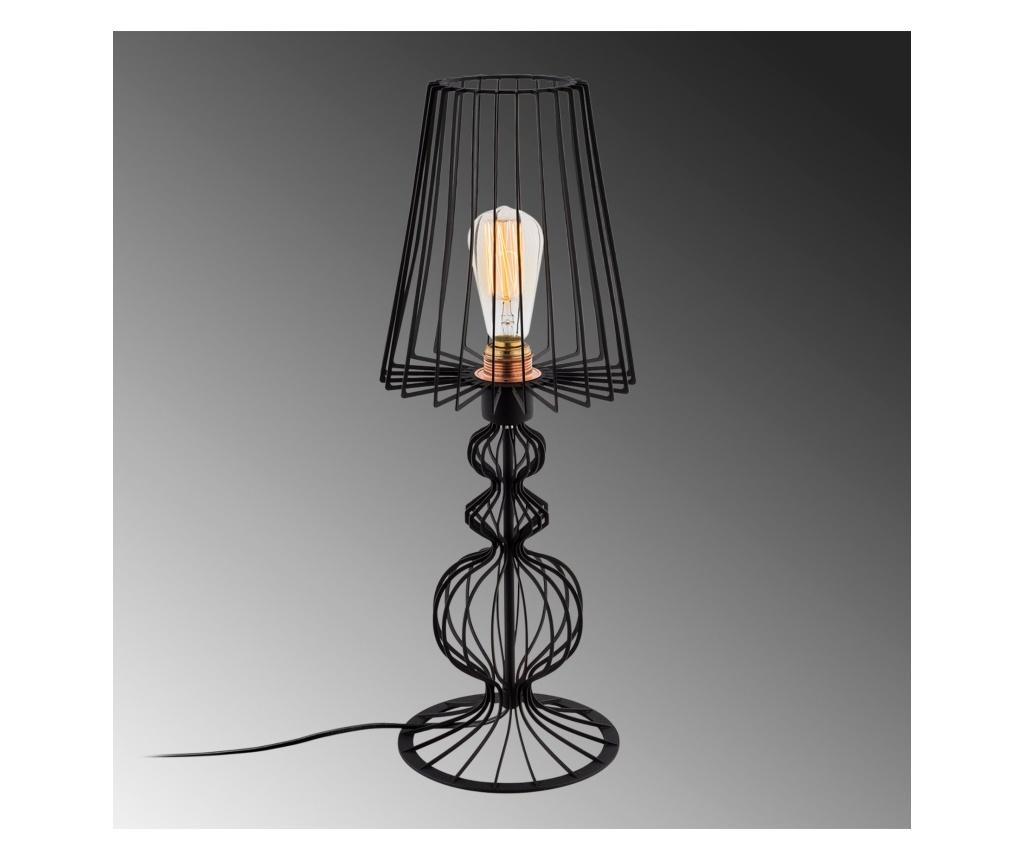 Lampa de masa Fellini One Black Round