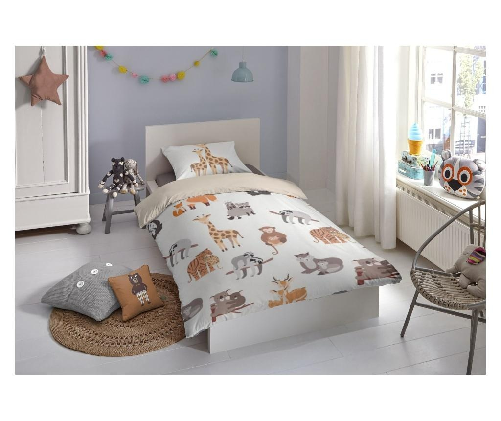 Detksá posteľná sada Single Ranforce Zoo