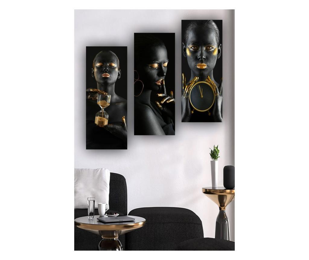 Комплект 3 картини  20x50 cm