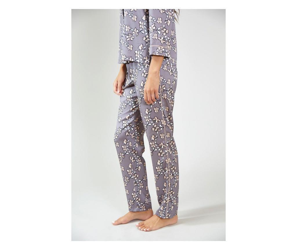 pantofi de skate vânzare cumpara popular Pantaloni de pijama dama Floral Grey 42-44 - Vivre.ro