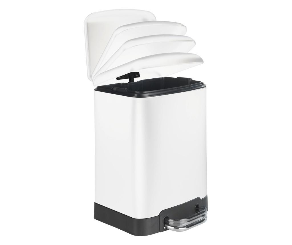 Cos de gunoi cu capac si pedala  6 L