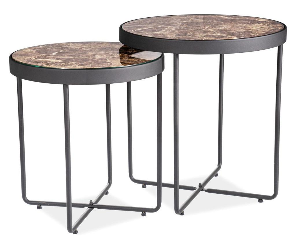 Set 2 klubskih mizic Manta