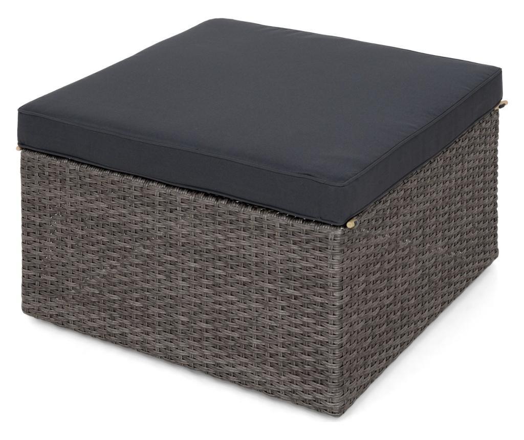 Set 2 canapele si taburet pentru exterior Gibson
