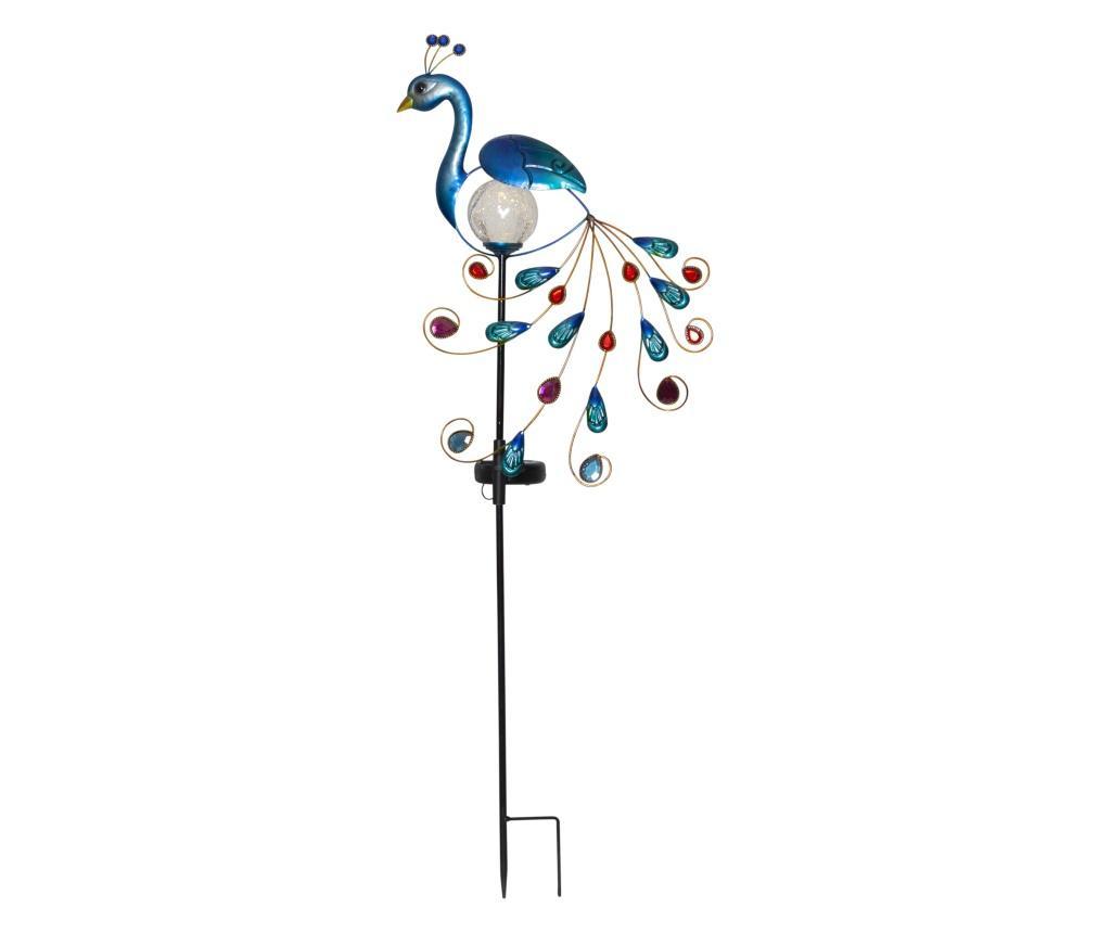 Solární LED lampa Peacok