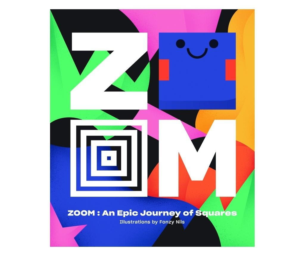 Carte ZOOM - An Epic Journey Through Squares