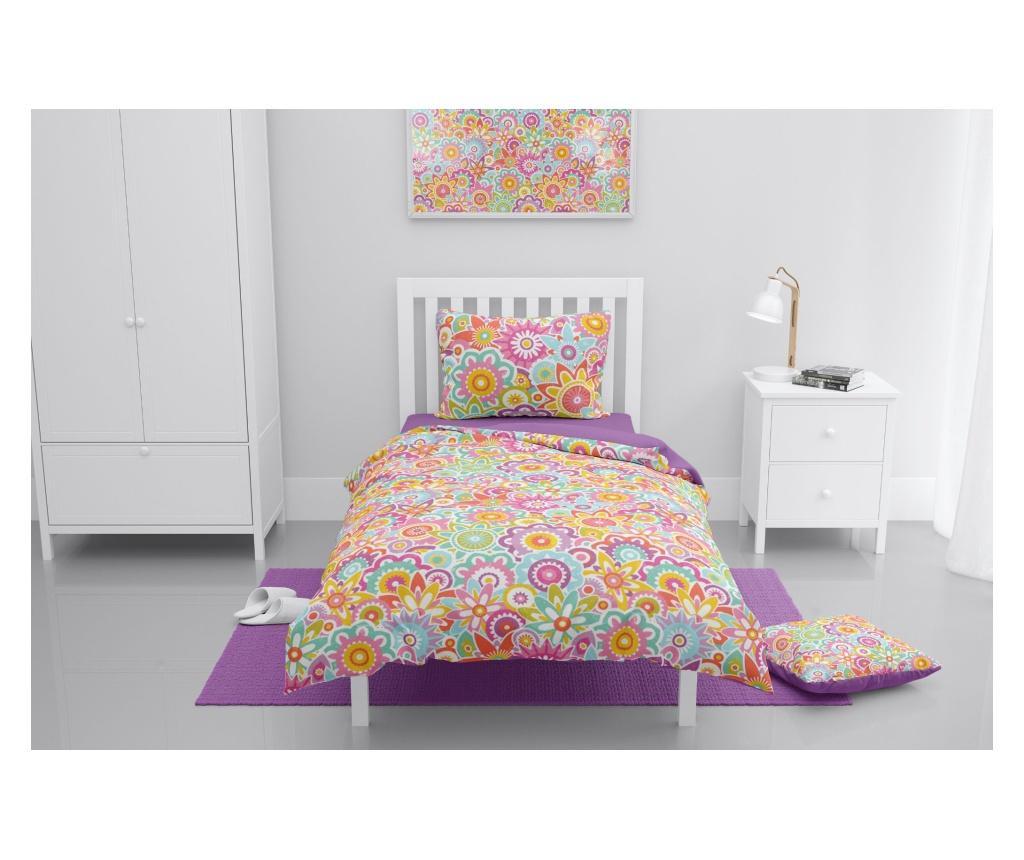 Lenjerie de pat pentru copii Catharanthus