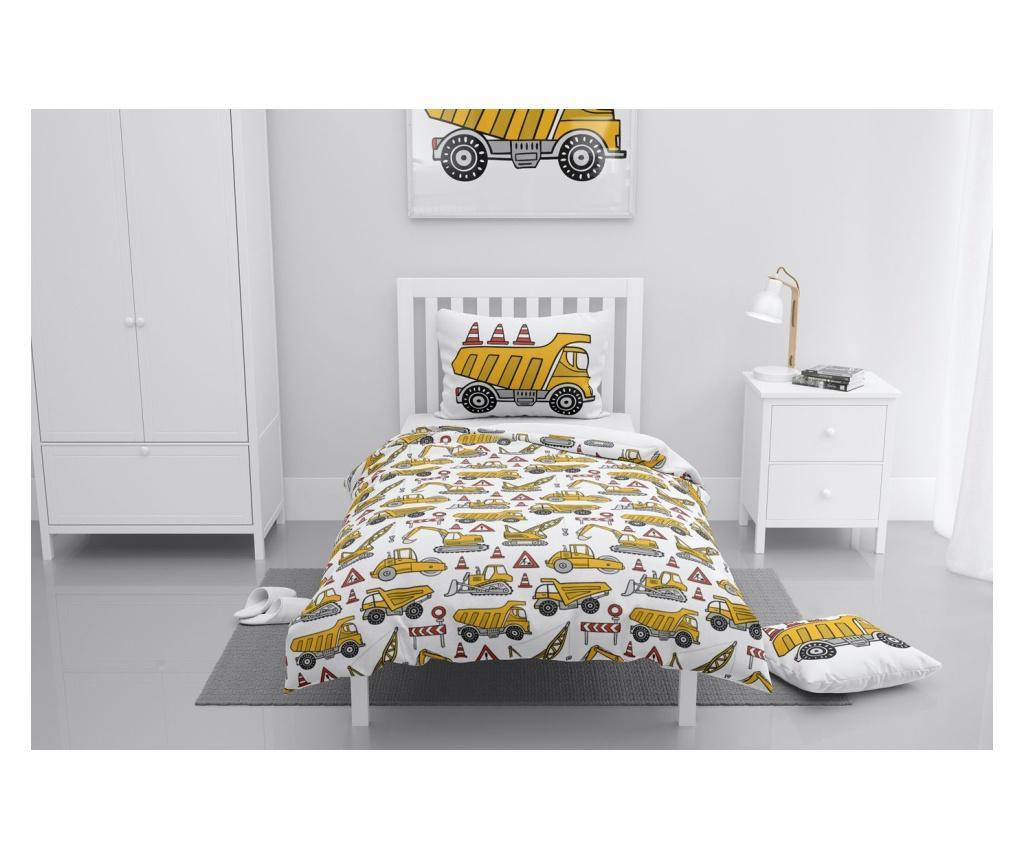 Lenjerie de pat pentru copii Chrysanthemum