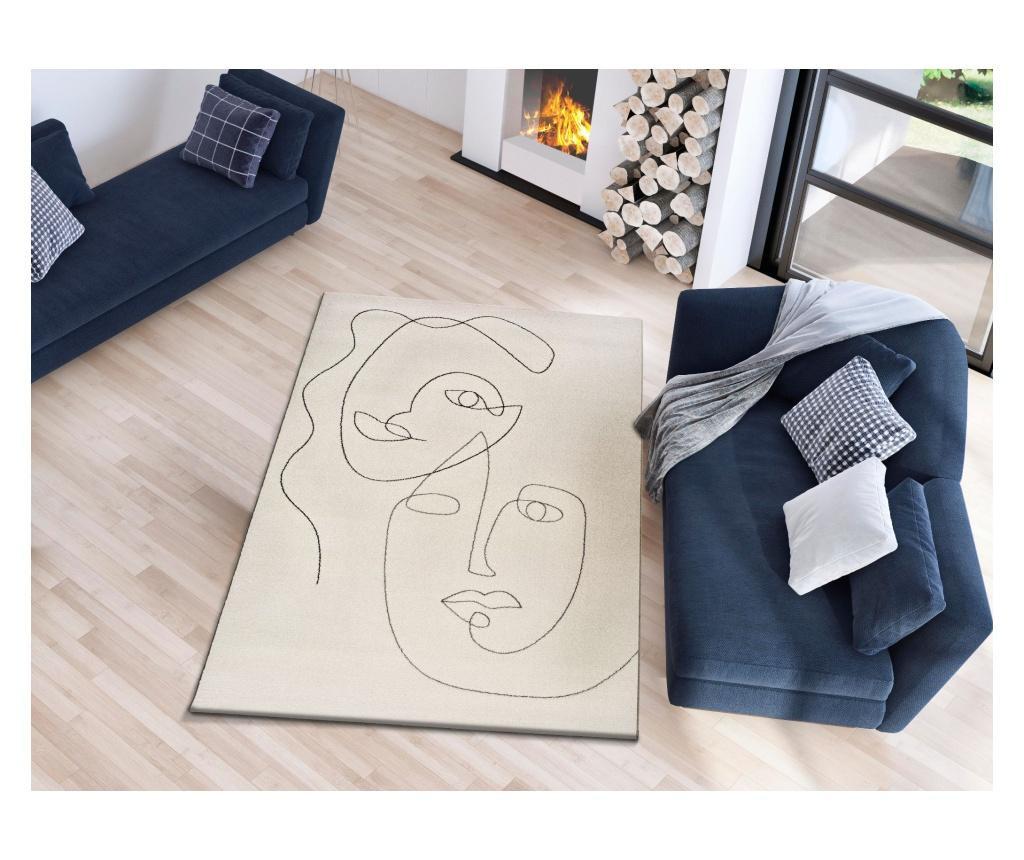 Sherry White Portrait Szőnyeg 120x170 cm