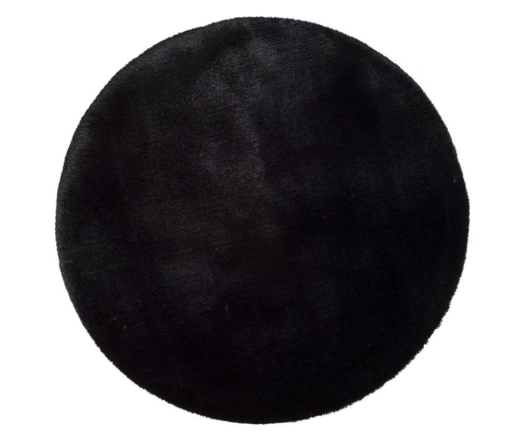 Fox Black Round Szőnyeg